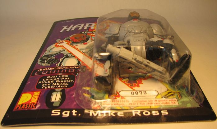 Drastic Plastic Hard Corps Figure Sgt Mike Ross 4.75 inch - 6040-6049CCCUFT