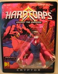 Drastic Plastic Hard Corps Figure Cryptor 4.75 inch Drastic Plastic, Hard Corps, Scifi, 1994, scifi, comic book