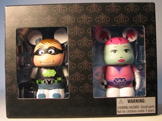 Disney Vinylmation Urban Series - Comic Con 2-pack Disney, Vinylmation, Action Figures, 2012, kidfare, art