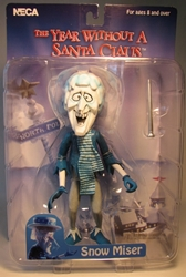 The Year Without a Santa Claus - Snow Miser 7 inch figure NECA, The Year Without a Santa Claus, Action Figures, 2006, Christmas, movie