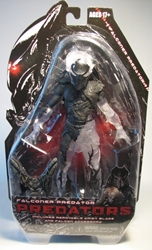 NECA Predators Series 7 Figure 8 inch Falconer Predator NECA, Predators, Action Figures, 2013, scifi, movie