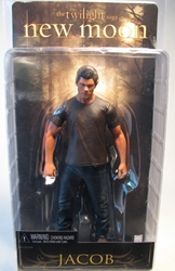 NECA Twilight New Moon Jacob 7 inch fig Neca, Twilight, Action Figures, 2009, vampires, movie
