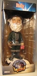 NECA Santas Around the World Head Knockers - Italy Befana Neca, Santas Around The World, Bobble-Heads, 2005, Christmas