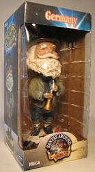 NECA Santas Around the World Head Knockers - Germany Christkind Neca, Santas Around The World, Bobble-Heads, 2005, Christmas