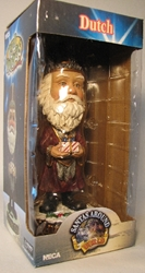 NECA Santas Around the World Head Knockers - Dutch Sinter Claus Neca, Santas Around The World, Bobble-Heads, 2005, Christmas