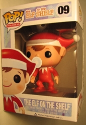 Funko Pop! The Elf on the Shelf 4.25 inch Funko, Christmas, Action Figures, 2012, family, movie