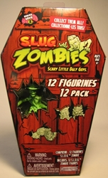 S.L.U.G. Zombies Series 2 Figurines 12 pack Jakks, S.L.U.G. Zombies, Action Figures, 2012, horror, halloween