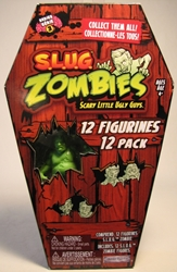 S.L.U.G. Zombies Series 3 Figurines 12 pack Jakks, S.L.U.G. Zombies, Action Figures, 2012, horror, halloween
