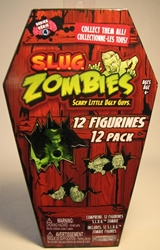 S.L.U.G. Zombies Series 4 Figurines 12 pack Jakks, S.L.U.G. Zombies, Action Figures, 2012, horror, halloween
