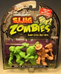 S.L.U.G. Zombies Series 2 Figurines 3 pack w Blazin Steel Jakks, S.L.U.G. Zombies, Action Figures, 2012, horror, halloween