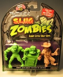 S.L.U.G. Zombies Series 2 Figurines 3 pack w Buck Wilde Jakks, S.L.U.G. Zombies, Action Figures, 2012, horror, halloween