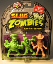 S.L.U.G. Zombies Series 2 Figurines 3 pack w Gator Jones
