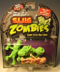 S.L.U.G. Zombies Series 3 Figurines 3 pack w Carol Jakks, S.L.U.G. Zombies, Action Figures, 2012, horror, halloween