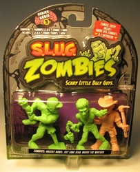 S.L.U.G. Zombies Series 3 Figurines 3 pack w Woody Jakks, S.L.U.G. Zombies, Action Figures, 2012, horror, halloween