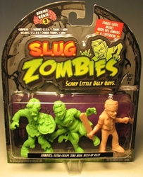 S.L.U.G. Zombies Series 3 Figurines 3 pack w Riley Jakks, S.L.U.G. Zombies, Action Figures, 2012, horror, halloween