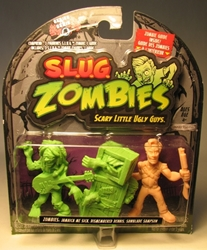 S.L.U.G. Zombies Series 4 Figurines 3 pack w Sampson Jakks, S.L.U.G. Zombies, Action Figures, 2012, horror, halloween