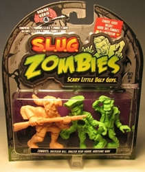 S.L.U.G. Zombies Series 4 Figurines 3 pack w Gruesome Gabe Jakks, S.L.U.G. Zombies, Action Figures, 2012, horror, halloween