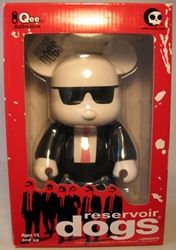 Reservoir Dogs 9 inch Qee Bear - Mr Pink Toy2R, Reservoir Dogs, Action Figures, 2009, crime, movie