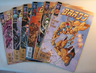 Brass #1-6 Complete Set Image, Brass, Comic Books, 2000, scifi, comic book