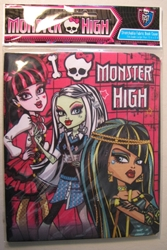 Stretchable Fabric Book Cover - Monster High design Innovative Designs, Monster High, Book Cover, 2011, teen, fashion, movie