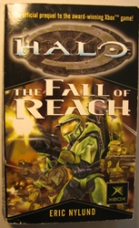 Halo: The Fall of Reach Del Rey, Halo, Books, 2001, scifi, video game