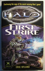 Halo: First Strike Del Rey, Halo, Books, 2003, scifi, video game