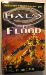 Halo: The Flood Del Rey, Halo, Books, 2003, scifi, video game