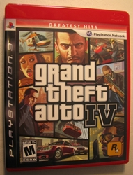 Grand Theft Auto IV  Playstation 3 Video Game Rockstar Games, Grand Theft Auto, Video Game, 2008, adventure, video game