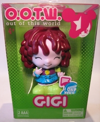 OOTW (Out Of This World) 4 inch GiGi (she giggles) Blip Toys, OOTW (Out Of This World), Action Figures, 2012, scifi