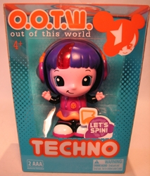OOTW (Out Of This World) 4 inch Techno (brain spins) Blip Toys, OOTW (Out Of This World), Action Figures, 2012, scifi