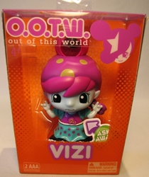 OOTW (Out Of This World) 4 inch Vizi (answers questions) Blip Toys, OOTW (Out Of This World), Action Figures, 2012, scifi