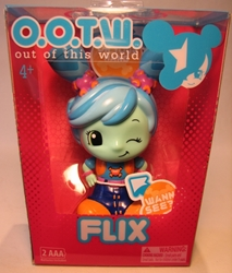 OOTW (Out Of This World) 4 inch Flix (projector pigtails) Blip Toys, OOTW (Out Of This World), Action Figures, 2012, scifi