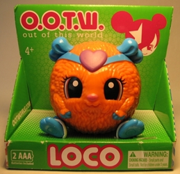 OOTW (Out Of This World) 3 inch Loco (orange pet) Blip Toys, OOTW (Out Of This World), Action Figures, 2012, scifi