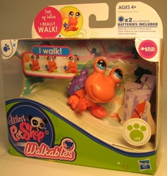 Littlest Pet Shop Walkables 2313 (Hermit Crab) Hasbro, Littlest Pet Shop, Littlest Pet Shop, 2011, cute animals, online site