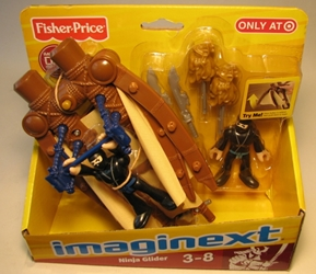 Fisher-Price Imaginext - Ninja Glider Fisher-Price, Imaginext, Preschool, 2011, adventure