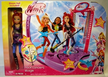 Winx Club Rock Concert Stage with Bloom Doll Jakks, Winx, Dolls, 2012, fashion