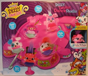Dizzy Dancers Deluxe Dance Studio Hasbro, Dizzy Dancers, Preschool, 2011, cute animals