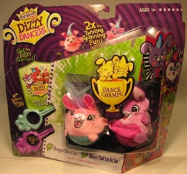 Dizzy Dancers 2-pack HopsiBella & BeriWinkle Hasbro, Dizzy Dancers, Preschool, 2011, cute animals
