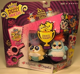 Dizzy Dancers 2-pack HillyHoot & ChipaLu Hasbro, Dizzy Dancers, Preschool, 2011, cute animals