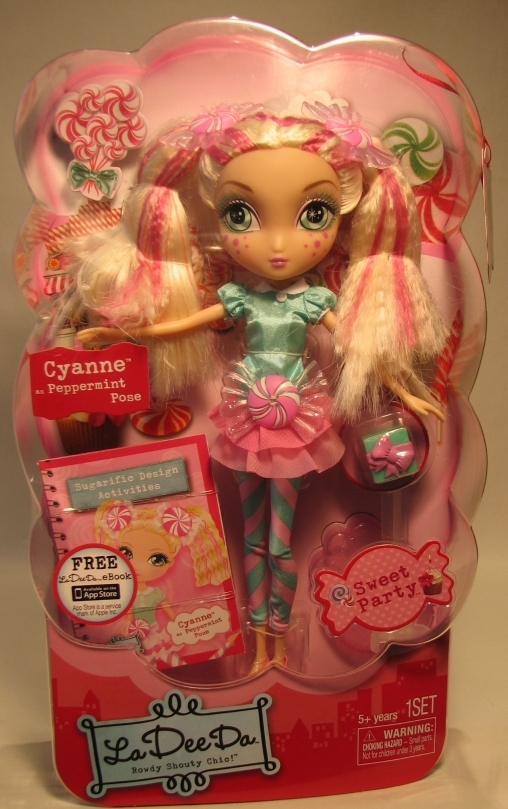 La Dee Da Sweet Party Cyanne 10 inch doll Spin Master, La Dee Da, Dolls, 2012, fashion
