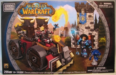 World of Warcraft 91026 Demolisher Attack Mega Bloks, World of Warcraft, Legos & Mega Bloks, 2012, fantasy, video game