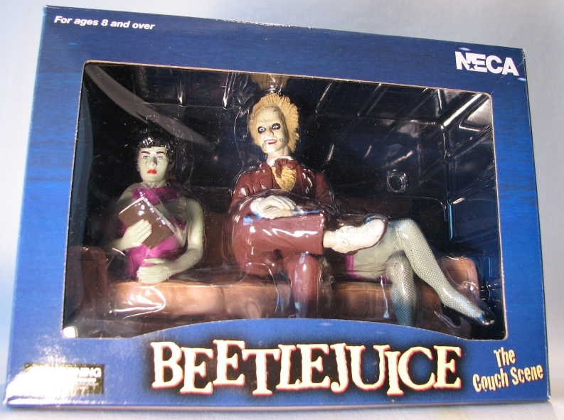 NECA Beetlejuice The Couch Scene Boxed Set NECA, Beetlejuice, Action Figures, 2001, comedy, movie