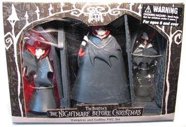Nightmare Before Christmas - Vampires and Coffins PVC Set NECA, Nightmare Before Christmas, Action Figures, 2002, halloween, movie
