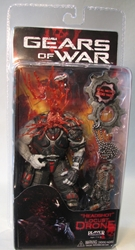 Gears of War 3 NECA 7 inch Headshot Locust Drone NECA, Gears of War, Action Figures, 2012, scifi, video game