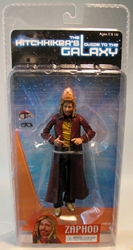 NECA Hitchhikers Guide to the Galaxy - 6.5 inch Zaphod NECA, Hitchhiker, Action Figures, 2005, scifi, movie