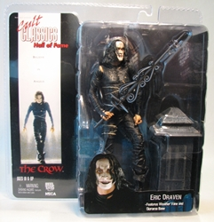 NECA Cult Classics Hall of Fame Eric Draven (The Crow) 7 inch NECA, Cult Classics, Action Figures, 2006, movie