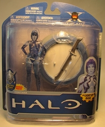 McFarlane Halo 4.5 inch Cortana with Light-up Base McFarlane, Halo, Action Figures, 2011, scifi, video game