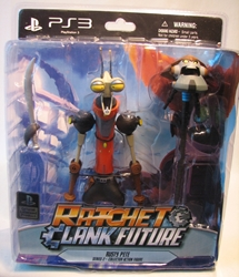 Ratchet & Clank Future Series 2 Figure - Rusty Pete 7 inch DC Unlimited, Ratchet & Clank, Action Figures, 2010, scifi, video game