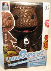 Mezco Little Big Planet 9 inch Mega Deluxe Sackboy Mezco, Little Big Planet, Action Figures, 2011, animated, video game