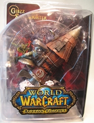 World of Warcraft Series 6 Gibzz Sparklighter (goblin on rocket) DC Direct, Warcraft, Action Figures, 2010, fantasy, video game